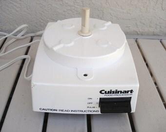 CUISINART Model DLC-10E Food Processor Motor Replacement Part.(s).