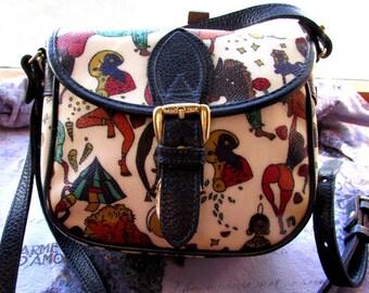 SALE*****Piero Guidi Magic Circus Cross Body Bag Evening Bag Small Purse