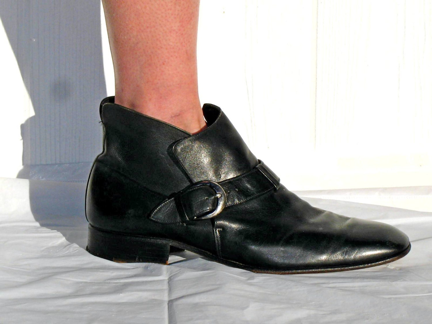mens johnston and murphy boots mens black boots leather