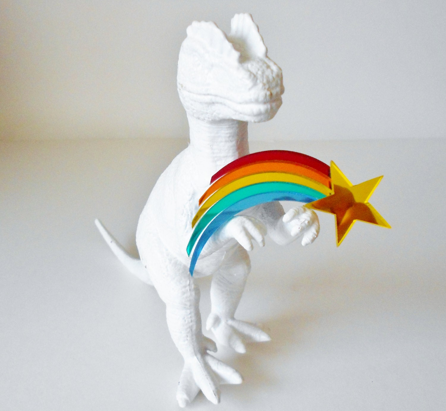 Vintage Rainbow Shooting Star Mirrored By Retrorevivalboutique