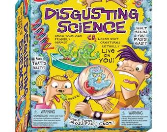 Scientific Explorers Disgusting Science Kit - Kids Crafts (439601)