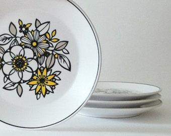 Vintage Noritake Mod Small Plates