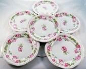 SALE: Six Antique Mignon Luncheon Plates by Z.S.&Co Bavaria