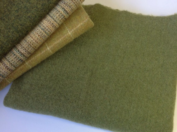 New Leaf Green, Wool for Rug Hooking and Applique, Select-a-Size, J886
