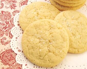 Classic Vanilla Sugar Cookies - 2 dozen