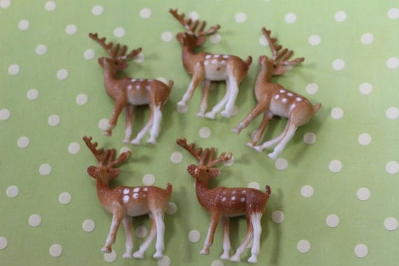 Deer Cupcake Toppers Cake Ideas And Designs