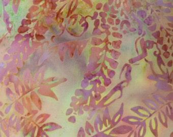 Island Batiks, KK03-1, Hand Painted Fabric, Purple, Pink, Green