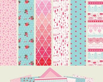 """Authentique Paper Collection """"Crush"""" A2 Card Making Stack"""