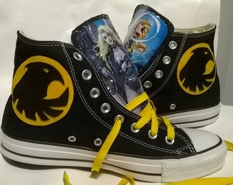 Black Canary Birds of Prey Converse shoes