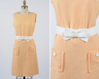 1960s dress/ 60s sun dress/ medium
