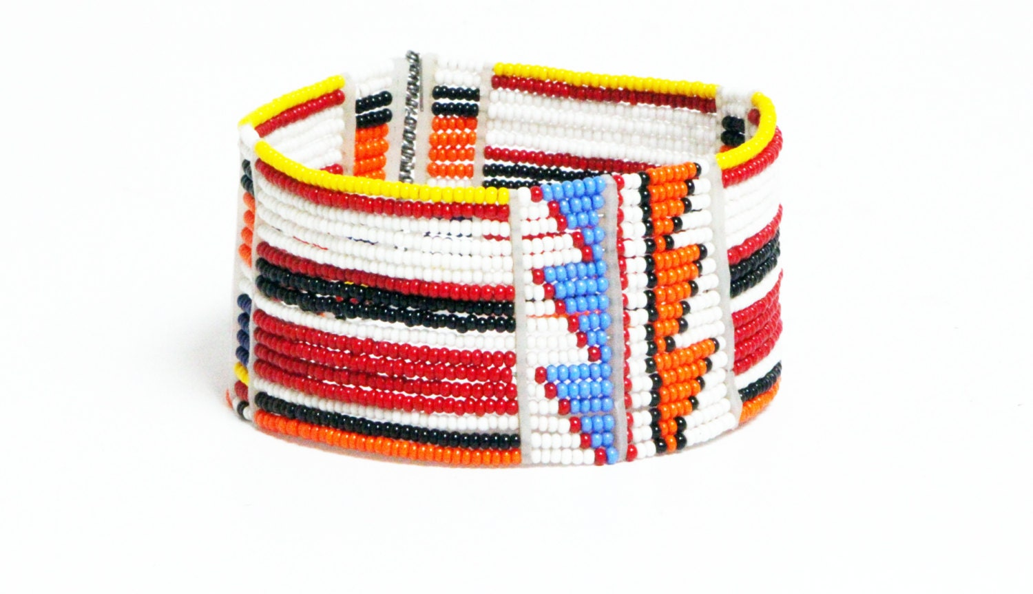 African Arm African Masai Beaded Arm Cuffs
