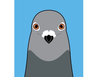 Pigeon (A2 Poster)