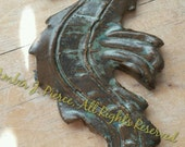 Seahorse large tile Mosaic or Jewelry