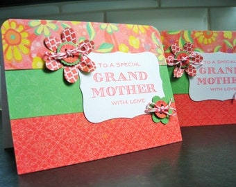 Birthday Card for Grandma, Mother's Day Card for Grandmother