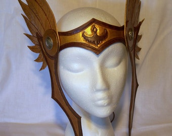 Large Wing Circlet Helm