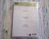 Stampin Up Made for You Stamp Set