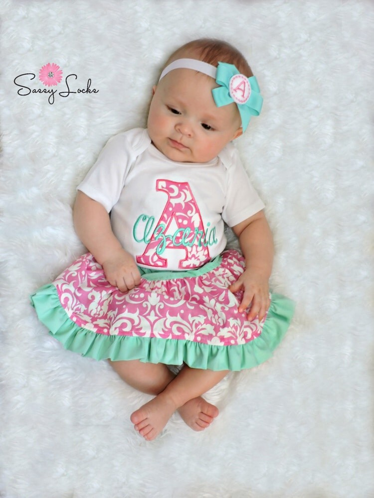 Personalized Baby Girl Clothes Newborn Gril Take by sassylocks