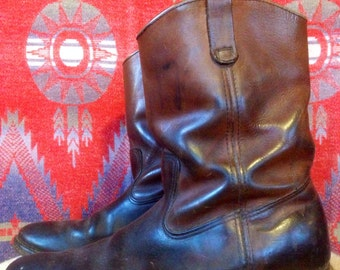 Vintage Red Wing Pecos Boot USA 13AA