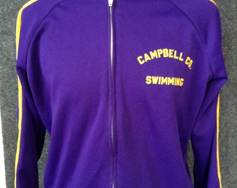 Vintage Campbell County Swimming jacket USA L