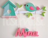 Personalised Kids Childrens Baby Room, Door Wall Hanging Name Plaque PRICE PER LETTER!