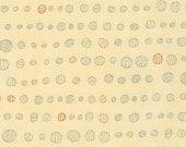 Doe Droplet in Meringue, Carolyn Friedlander, Robert Kaufman Fabrics, 100% Cotton Fabric, AFR-15030-292 MERINGUE