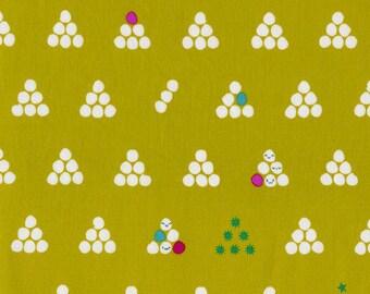 Mochi in Lime, Rashida Coleman Hale, Cotton+Steel, RJR Fabrics, 100% Cotton Fabric, 1913-2