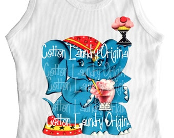 Tee shirt Childrens child tee shirt tank Circus theme tee shirt