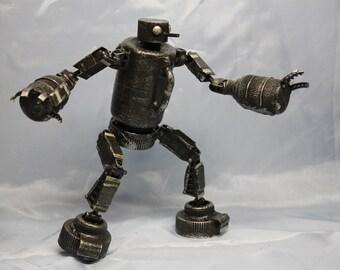 assemblage robot jester