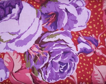 August Rose in Purple by Kaffe Fassett