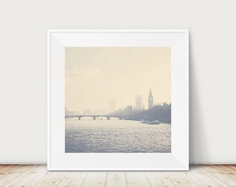 london photograph london print london decor river thames photograph big ben photograph houses of parliament photograph london art