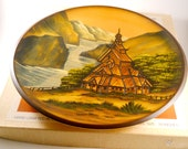Pfaff Wood Plate The Heritage Series Hand Crafted in Germany