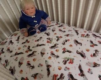 baby crib dog bed etsy. Black Bedroom Furniture Sets. Home Design Ideas