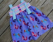 Girls Toddlers Infants My Little Pony Knot Dress