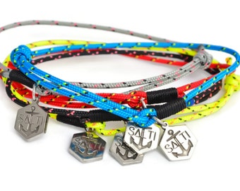 SALTI Nautical Rope 'Skinny' Bracelet Bundle FREE Worldwide Shipping