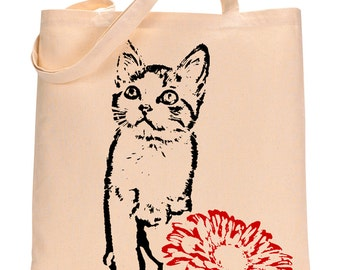 McGregor the Kitten - Eco-Friendly Tote Bag