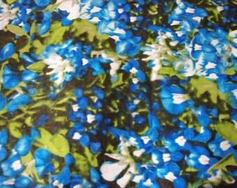 Texas Bluebonnets Fabric Paintbrush By The Fat Quarter New BTFQ