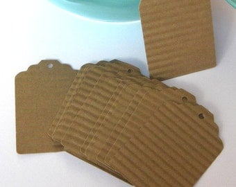 250 brown paper tags - kraft paper tags - gift tags - wedding favor tags - merchandise tags - jar tags - hang tags - craft supplies
