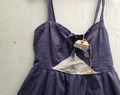 RESERVED AMY love Brand New converse one star vintage 1908 blue vintage lace flowers rustic boho party prairie romance free people sun dress