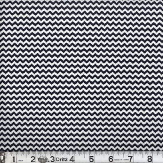 "Mini chevron fabric,Navy blue chevron fabric,Small chevron,100% cotton,Quilt fabric,Apparel fabric,Craft,END OF BOLT Fabric 22"" x 44"" W"