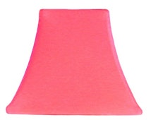 coral slip cover for your existing lampshade stretches to fit. Black Bedroom Furniture Sets. Home Design Ideas