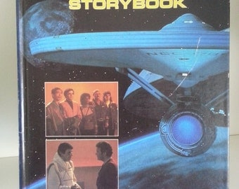 1984 Star Trek the Search for Spock Storybook based on the movie