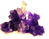 Quartz Crystal Cluster Soap Set, Guest Size Rock Soap, 7 to 10 pieces included