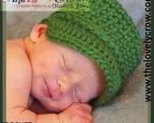 Baby Army Hat Crochet Pattern Little ComBrat Cap