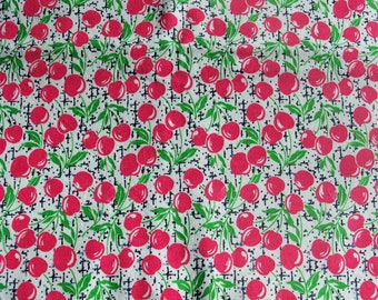 Cherries! Flannel by the yard