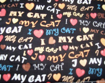 I Love My Cat! Refillable Catnip Mats