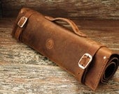 Leather Knife Roll : Made...