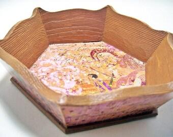 Bathing Beauty Decoupaged Tray