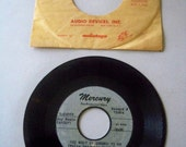 """Vintage Rare Pre-Production Copy Bette Davis """"Single/Oh; What It Seemed To Be"""" 45 RPM Record"""