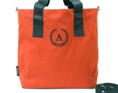 Make your own Tote // Pick you own color // Select Alphabet for your intial // Made to order // Messenger / Shoulder bag / Tote bag / Gym