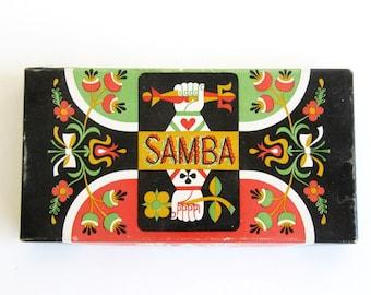 Vintage Samba 1951 Canasta Card Game Yachting Whitman